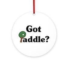 Got Paddle? Ornament (Round)