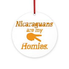 Nicaraguan Homies Ornament (Round)