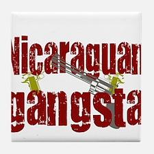 Nicaraguan Gangsta Tile Coaster