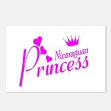 Nicaraguan Princess Postcards (Package of 8)