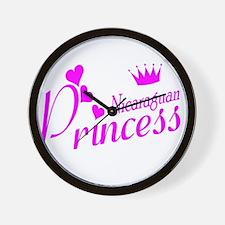 Nicaraguan Princess Wall Clock
