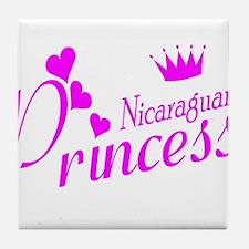 Nicaraguan Princess Tile Coaster