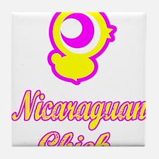 Nicaraguan Chick Tile Coaster