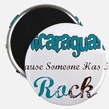 Nicaraguan Rock Magnet
