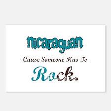 Nicaraguan Rock Postcards (Package of 8)