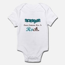 Nicaraguan Rock Infant Bodysuit