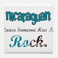 Nicaraguan Rock Tile Coaster