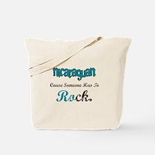 Nicaraguan Rock Tote Bag
