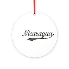 Nicaragua Flanger Ornament (Round)