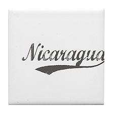 Nicaragua Flanger Tile Coaster