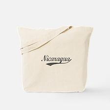 Nicaragua Flanger Tote Bag