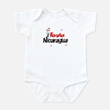 I love Nicaragua Infant Bodysuit
