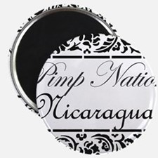 Pimp Nation Nicaragua Magnet