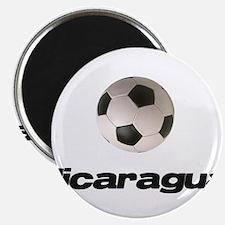 Nicaragua Soccer Magnet