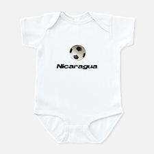 Nicaragua Soccer Infant Bodysuit