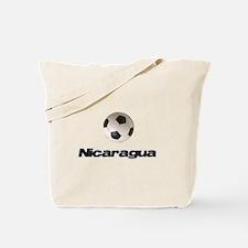 Nicaragua Soccer Tote Bag
