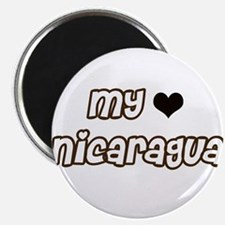 Nicaragua Love Magnet