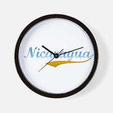 Nicaragua Beach Flanger Wall Clock