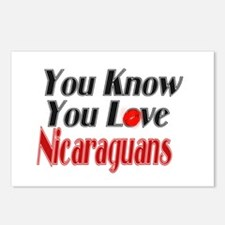 You Love Nicaraguans Postcards (Package of 8)