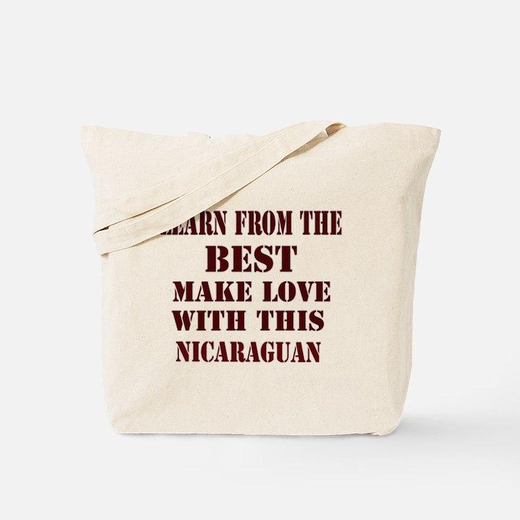 Nicaraguan Love Tote Bag