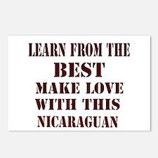 Nicaraguan Love Postcards (Package of 8)