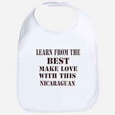 Nicaraguan Love Bib