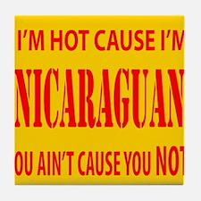 Hot Nicaraguan Tile Coaster