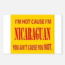 Hot Nicaraguan Postcards (Package of 8)
