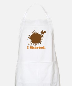 I Sharted (Poop Stain) BBQ Apron