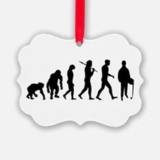 Accountant Evolution Ornament