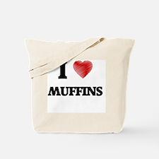 I Love Muffins Tote Bag