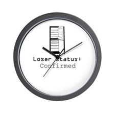Loser Status Confirmed Wall Clock