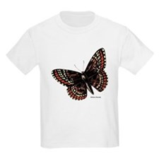 Baltimore Butterfly (Front) Kids T-Shirt