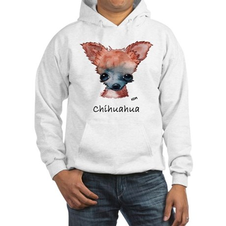 Chihuahua 2 no bg Hooded Sweatshirt