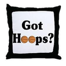 Got Hoops? Throw Pillow