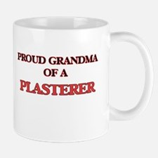 Proud Grandma of a Plasterer Mugs
