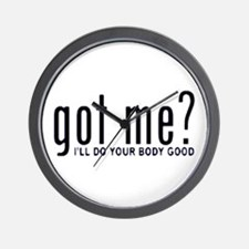 Got Me? I'll Do Your Body Go Wall Clock