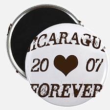 Nicaragua Forever Magnet