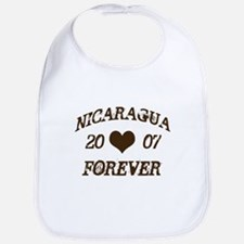 Nicaragua Forever Bib