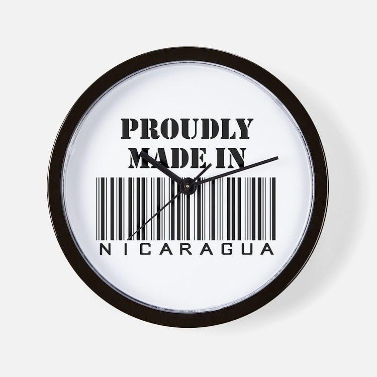 Made in Nicaragua Wall Clock