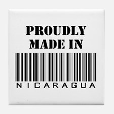 Made in Nicaragua Tile Coaster