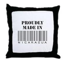 Made in Nicaragua Throw Pillow