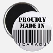 Made in Nicaragua Magnet
