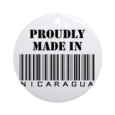 Made in Nicaragua Ornament (Round)