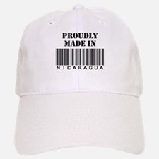 Made in Nicaragua Baseball Baseball Cap