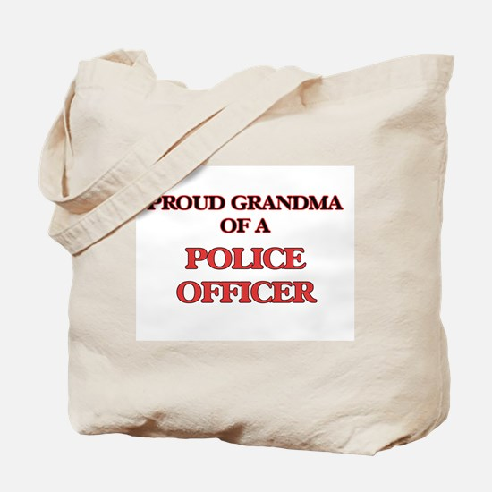Proud Grandma of a Police Officer Tote Bag