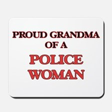 Proud Grandma of a Police Woman Mousepad