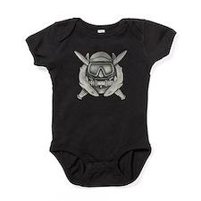 Unique Airborne ranger Baby Bodysuit