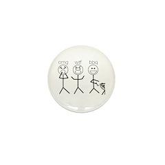 OMGWTFBBQ Mini Button (10 pack)