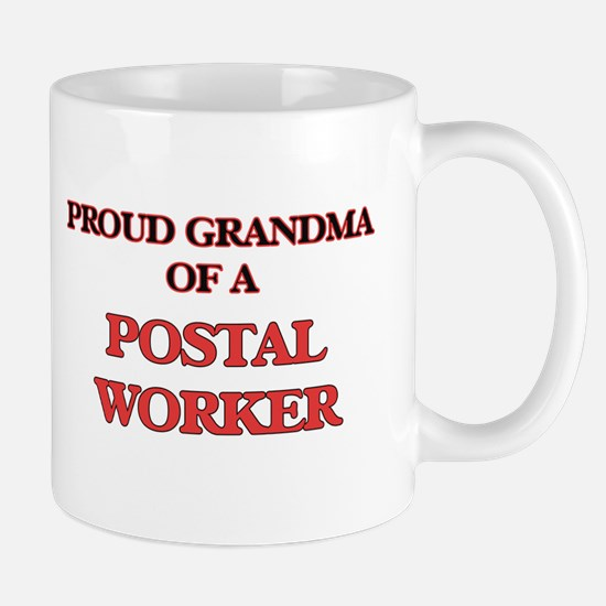 Proud Grandma of a Postal Worker Mugs
